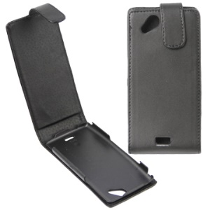 Classic Vertical Magnetic Flip Leather Case for Sony Ericsson X12/Anzu/ XPERIA Arc/Arc S LT18i