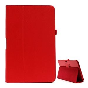 Samsung ATIV Smart PC XE500T 500T Litchi Leather Case with Stand - Red