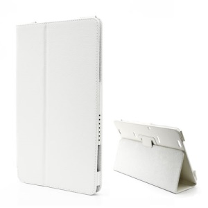 Folio Leather Stand Case Cover for Samsung XE700T1C ATIV Smart PC 11.6-inch Win 8 - White
