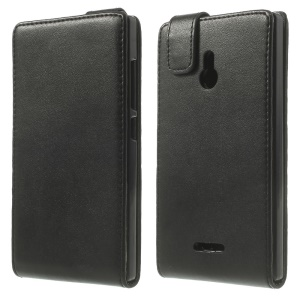 Vertical Flip Magnetic Leather Case for Nokia XL Dual SIM RM-1042 SRM-1030