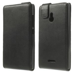 Vertical Flip Magnetic Leather Case for Nokia XL Dual SIM RM-1042 SRM-1030