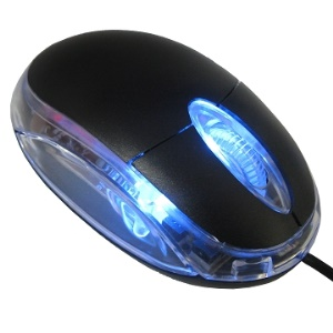 Simple Quality USB Optical Scroll Wheel Mice Mouse(2081C)