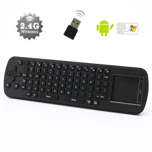 Measy RC12 2.4G Mini Fly Air Mouse USB Wireless Keyboard Remote for PC Set-top-box Android TV Box
