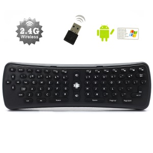 Measy RF 2.4G Wireless USB Keyboard Fly Air Mouse Remote Controller for TV Box PC Media Player