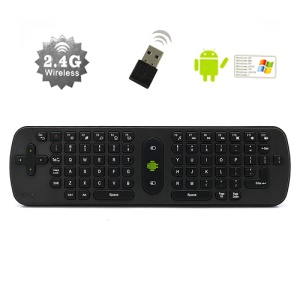 Measy RC11 Air Mouse 2.4G USB Wireless Keyboard Remote Controller for TV Box PC Media Player