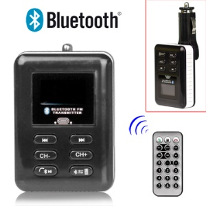 Hand Free Bluetooth Kit Car FM Transmitter,Support USB Devices and MP3 iPod DVD Player