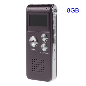 SK-012 Mini 8GB Digital Voice Recorder USB Flash Drive - Purple
