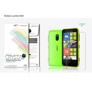 Nillkin Ultra-Clear Anti-Fingerprint LCD Screen Protector for Nokia Lumia 620
