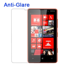 Anti-glare Matte Screen Protector Film Cover for Nokia Lumia 820