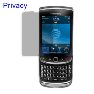 Privacy Screen Protector Guard for BlackBerry 9800 Torch