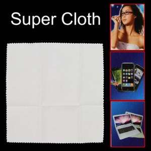 Super Digital Cloth for Mobile Phone,Computer,Glasses, Car and LCD etc,Size:20 * 20cm