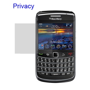 Privacy LCD Screen Protector Guard Film BlackBerry Bold 9700 9780 9020 Onyx