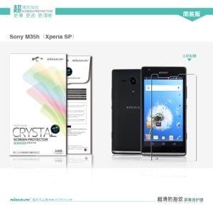 Nillkin Anti-Fingerprint Ultra-Clear Screen Protector Film for Sony Xperia SP C5303 C5302 C5306 M35h