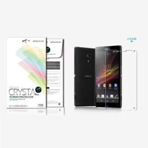 Nillkin Anti-Fingerprint Ultra-Clear Protective Film for Sony Xperia ZL C6503 C6502 C6506 L35h