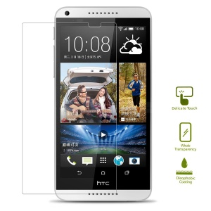 0.25mm Explosion-proof Tempered Glass Screen Guard Film for HTC Desire 816 (Arc Edge)