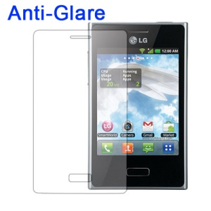 Anti-Glare Matte Screen Protector for LG Optimus L3 E400