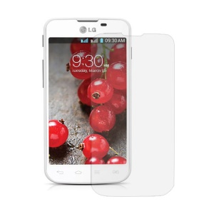 Clear Phone LCD Screen Protector Cover  for LG Optimus L5 II Dual E455