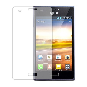 Clear Screen Guard Film for LG Optimus L5 E610 E612