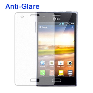 Anti-Glare Frosted Screen Protector for LG Optimus L5 E610 E612