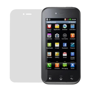 Clear LCD Screen Protector for LG Optimus Sol E730 Victor