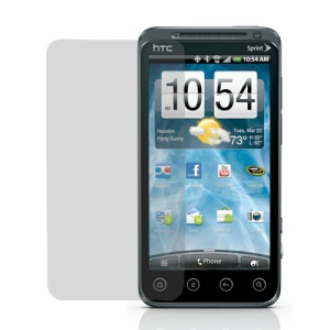 HTC EVO 3D Clear Screen Protector/ Screen Guard Film