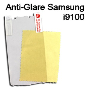 Anti-Glare Screen Protector for Samsung I9100 Galaxy S 2