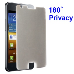 180 Degree Anti-glare Privacy Screen Protector for Samsung I9100 Galaxy S 2 / II