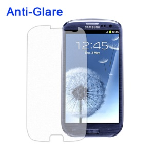 Anti-Glare Frosted Screen Protector for Samsung GT-I9300 Galaxy S 3 / III