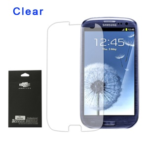 Premium Clear Screen Protector for Samsung Galaxy S 3 / III I9300 I747 L710 T999 I535 R530