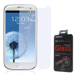 Remax 0.2mm 9H Tempered Glass Screen Protector Guard for Samsung Galaxy S3 I9300