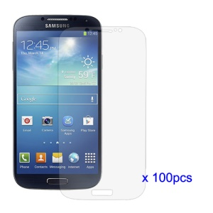 100Pcs/Lot Ultra Clear LCD Screen Guard Film for Samsung Galaxy S 4 IV i9500 i9505