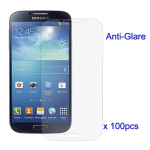 100Pcs/Lot Anti-Glare Frosted Screen Protector for Samsung Galaxy S 4 IV i9500 i9505