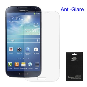 Premium Anti-Glare Screen Film Shield for Samsung Galaxy S 4 IV i9500 i9505