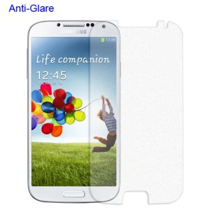 Quality Anti-Glare Frosted Screen Protector for Samsung Galaxy S 4 IV i9500 i9505 with Package