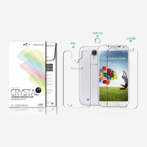 Nillkin Ultra Clear Anti-Fingerprint ScreenFilm for Samsung Galaxy S 4 i9500 i9505 (Suite Edition)