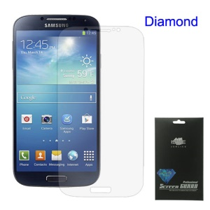 Premium Diamond Screen Guard Film for Samsung Galaxy S 4 IV i9500 i9505