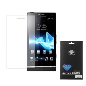 Diamond Screen Protector Film for Sony Xperia S LT26i LT26a / Nozomi