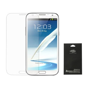 Premium Clear LCD Screen Protector for Samsung Galaxy Note II N7100