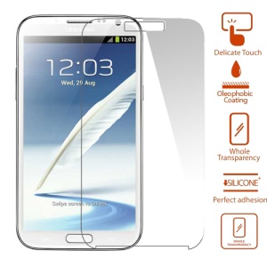 Explosion-proof Tempered Glass LCD Screen Guard Film for Samsung N7100 Galaxy Note2 ii