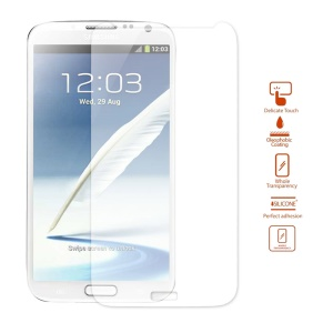 0.2mm Ultra-thin Explosion-proof Tempered Glass Screen Protector Film for Samsung Galaxy Note II N7100
