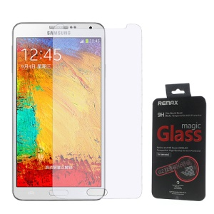 Remax 0.2mm 9H Tempered Glass Screen Protector Film for Samsung Galaxy Note 3 N9005 N9000 N9002