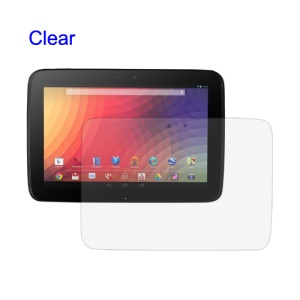 Clear Screen Protector Film Shield for Samsung Google Nexus 10 P8110