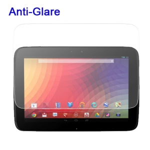 Anti-Glare Matte Screen Protector Film for Samsung Google Nexus 10 P8110