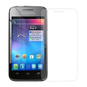 Clear LCD Screen Guard Film for Alcatel One Touch MPOP OT5020D 5020