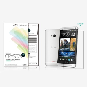 Nillkin Super Clear Anti-fingerprint Screen Guard Film for HTC One M7 801e