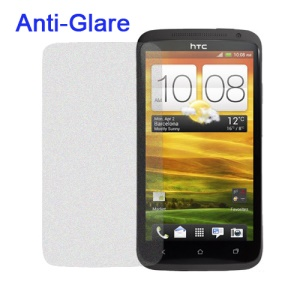 Anti-Glare Frosted Screen Protector for HTC One X S720e Edge Endeavor / One XL