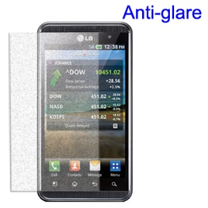 Frosted Anti-Glare Screen Protector Guard Film for LG Optimus 3D P920