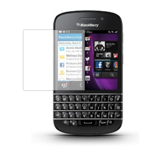 For BlackBerry Q10 Clear LCD Screen Protector Guard Film