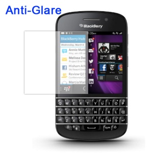 Anti-Glare Frosted Screen Protector Cover for BlackBerry Q10