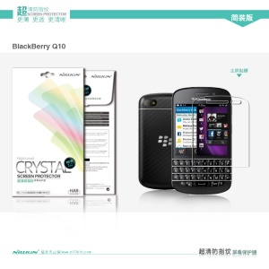Nillkin Anti-Fingerprint Super Clear Screen Protector Guard Film for BlackBerry Q10